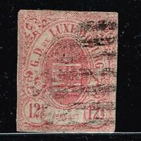 Luxembourg SC# 8, Used.       Lot 02152015