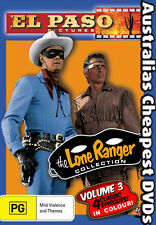 The Lone Ranger Collection Vol 3 DVD NEW, FREE POSTAGE WITHIN AUSTRALIA REGION 4