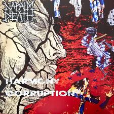 Napalm Death – Harmony Corruption LP Vinyl New Re (2018) Grindcore Death Metal