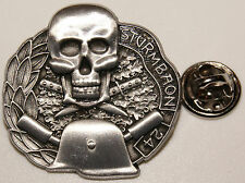 Sturmbatallion 24 Sturmbaon Skull Totenkopf  l Anstecker l Abzeichen l Pin 390