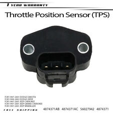 ECCPP Throttle Position Sensor Fit for Dodge Dakota 1997-2001//Dodge Viper 1998-2002//Jeep Cherokee 1997-2000//Jeep Grand Cherokee Jeep TJ Jeep Wrangler 1997-2001 4874371 TPS Sensor