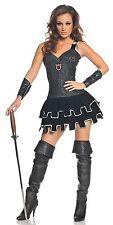 Underwraps All Knight Mini Dress Adult Women's Halloween Costume Size XL