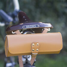 Bicycle Saddle Tool Bag Real Leather Perfect Choise For BROOKS saddle