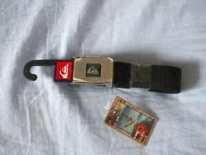 Quiksilver Mens Belt, Black, Brand New