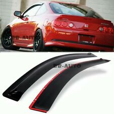 For 02-07 RSX DC5 Type S R Si Window Side Visors Rain Guard Smoke Sun Shield JDM