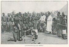 Y9739 Bicicletta BIANCHI nel centro dell'Africa - Pubblicità d'epoca - 1924 Ad