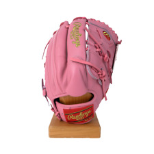 "Rawlings Heart of the Hide 12.25"" SMU Pink Baseball Glove PRO207-9P"