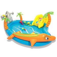 Bestway Kids Sea Life Inflatable Paddling Pool Play Centre Swimming Garden Games