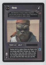 1998 Star Wars Customizable Card Game: Jabba's Palace Expansion Set Barada 9cp