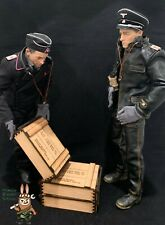 1/6 scale crate box WWII German (Set of 3) for 1/6 diorama and vehicle
