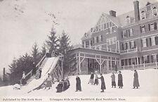 East Northfield, MA - Toboggan Slide at The Northfield