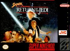 Super Star Wars Return of the Jedi SNES SUPER NINTENDO Video Game