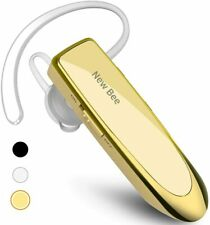 New bee Bluetooth Earpiece V5.0 Handsfree Headset Noise Cancelling 60 Days StdBy