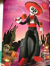 Senor Skeleton halloween? Childrens Toy knitting pattern by Alan Dart FREEPOST