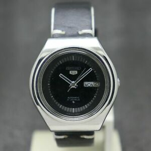 80's Vintage Seiko 5 Automatic Movement No. 6319 Japan Made Men's Watch.