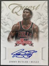 2012-13 Panini Crusade Quest Auto Jimmy Butler RC Rookie #13