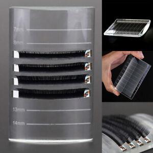 U Type Curved Tile Glass Eye Lash Stand Pallet Holder Tray Eyelash Extension US