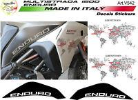 """Kit adesivi personalizzato - Moto Ducati multistrada 1200 Enduro """"V542"""""""