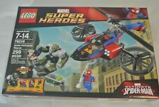 LEGO Super Heroes Spider-Helicopter Rescue 76016 Marvel Spiderman Green Goblin