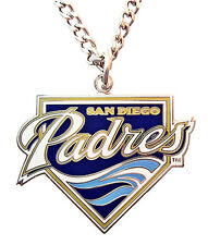 San Diego Padres MLB Logo Necklace