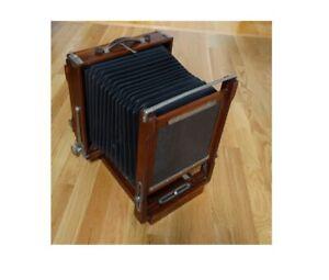 Solid 8X10 Inch Mahogany Korona Camera In Great Shape All The Way Around