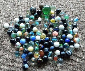 113 GLASS MARBLES - Vintage/ Deceased Estate
