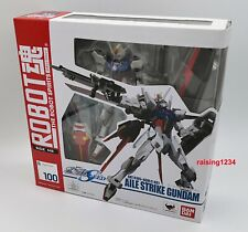 Mobile Suit Gundam Seed Aile Strike Bandai Robot Spirits 100 Action Figure