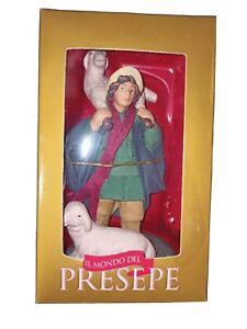 Statuina pastore Il Mondo Del Presepe De Agostini, Nuovo