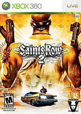 Saints Row 2 - THQ - Microsoft - Xbox 360 - LIVE - 2008 - Disc Game Disc ONLY!
