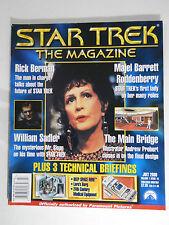 STAR TREK THE MAGAZINE #15 July 2000 TOS DS9 TNG Majel Barrett Roddenberry Sloan
