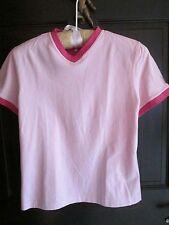 Connoisseur Equestrian Pink Super Soft Poloshirt/lacoste fabric Size M