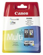 2x ORIGINAL CANON TINTE PATRONEN PIXMA PG-540 CL-541 MX450 MX475 MG2155 Set