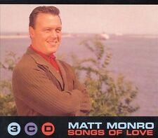 Songs of Love by Matt Monro (CD, Oct-1998, 3 Discs, Emi/Emi Gold)