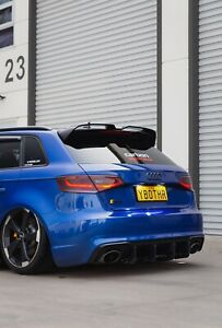 Audi RS3 Wing OETT Style Rear Spoiler For 2015-2020 Audi S3 RS3 8V Sportback.