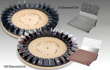 "Floor Machine Diamabrush Concrete Prep Tool 100 Grit 17"" Heavy Duty"