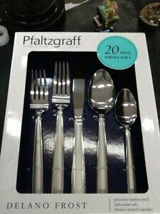 Pfaltzgraff Delano Frost 20 Piece Set Services 4