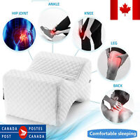 Knee Pillow For Side Sleepers Memory Foam Contour Leg Pillows Spacer Cushion Hip