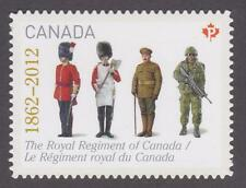 Canada 2012 #2580i The Regiments: Royal Regiment of Canada - die cut Unused