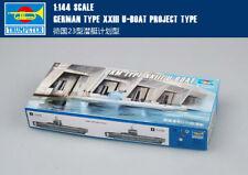 GERMAN TYPE XXII U-BOAT PROJECT TYPE 1/144 Submarine Trumpeter model kit 05907