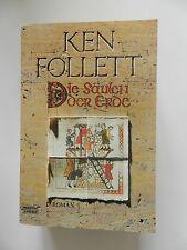 Ken Follett Die Säulen der Erde Historischer Roman Bastei Lübbe Verlag