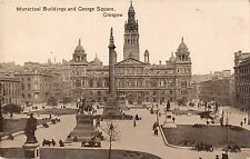 BR80695 municipal building and george square glasgow scotland  real photo