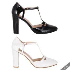 6454f7723c0 Block Solid 8 Heels for Women