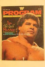 WWF Program Wrestling Magazine #152 -  Don Muraco 1987