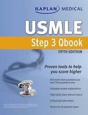 Kaplan Medical USMLE Step 3 Qbook, Kaplan, Good Condition, Book