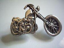 Harley Davidson Engine Chopper Motorcycle Pin Factory HD Biker Vest Jacket Badge