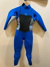 Roxy SYNCRO Girls 4/3mm Fullsuit size 6