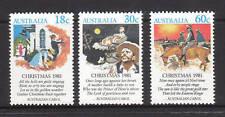 1981 Australia~Christmas~Unmounted Mint~Stamp Set~ UK Seller~