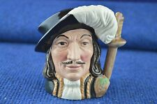 Lovely Royal Doulton ''Athos'' Musketeer D 6452 Character Toby Jug USC RD7171