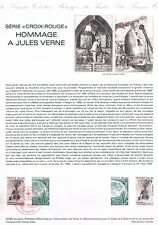 Document Officiel   1982 42   Serie Croix Rouge Jules Verne  Yv N° 2247 Et 2248