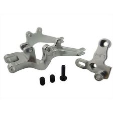 Hot Racing HOR5608 1/8 Kyosho Motorcycle Silver Aluminum Rear Swing Arm